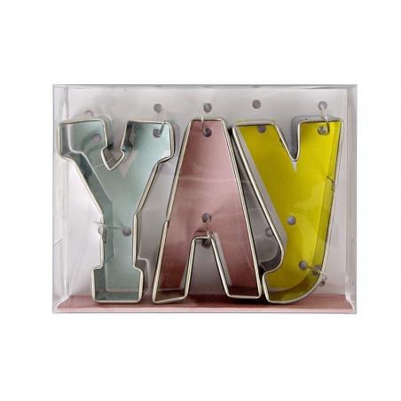 Acheter Emporte-pièces YAY - 7,00€ en ligne sur La Petite Epicerie - 100% Loisirs créatifs