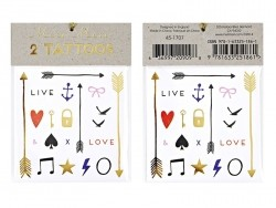 40 Tattoos mit grafischen Mustern - Love & Live