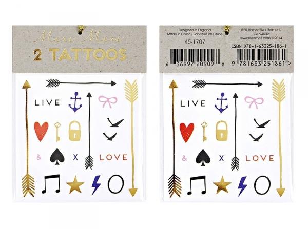 40 graphic tattoos - Love & Live