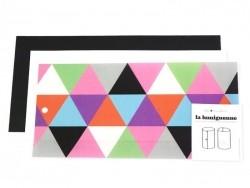 """Postkarte / Windlicht """"Grafisches Muster"""" - Lumignonne von Fifi Mandirac"""