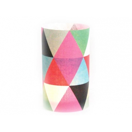 "Postcard / paper lantern ""Graphic designs"" - Lumignonne by Fifi Mandirac"