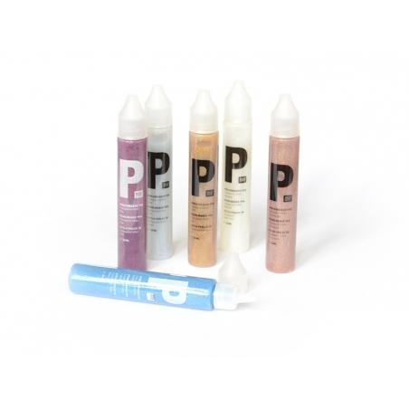 Acheter Set de 6 Stylos à Perles Glitter 30 ml - 18,90€ en ligne sur La Petite Epicerie - Loisirs créatifs
