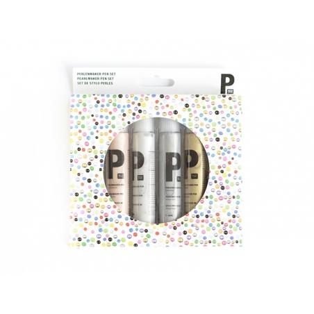 Acheter Set de 6 Stylos à Perles Métallique 30 ml - 18,90€ en ligne sur La Petite Epicerie - 100% Loisirs créatifs