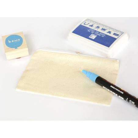 Acheter petite pochette en tissu à customiser - 4,99€ en ligne sur La Petite Epicerie - Loisirs créatifs