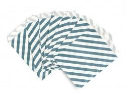 Acheter 1 pochette cadeau - Rayures Bleu canard - 0,29€ en ligne sur La Petite Epicerie - 100% Loisirs créatifs