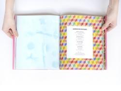 Livre fêtes en papier