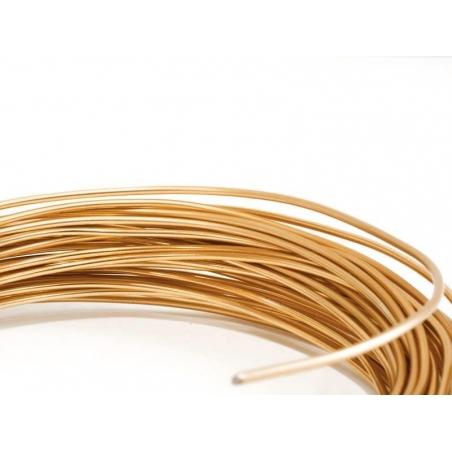 10 m de fil aluminium - cuivré  - 1