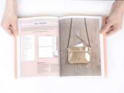 Livre Sacs couture en cuir - Dany Ennuyer
