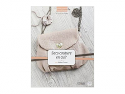 "French book "" Sacs couture en cuir - Dany Ennuyer"""
