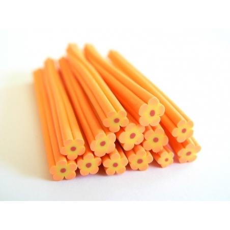 Flower cane - orange