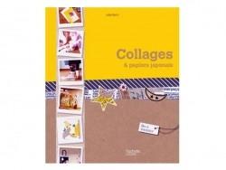 Livre Collages et papiers japonais Hachette - 1