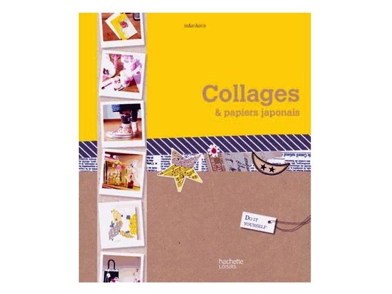 """French book """" Collages et papiers japonais"""""""