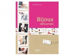 """French book """" Bijoux détournés - Nathalie de Laval"""""""