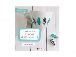 """Livre Mes petits tampons """"faits maison"""" - Marion Saettele"""