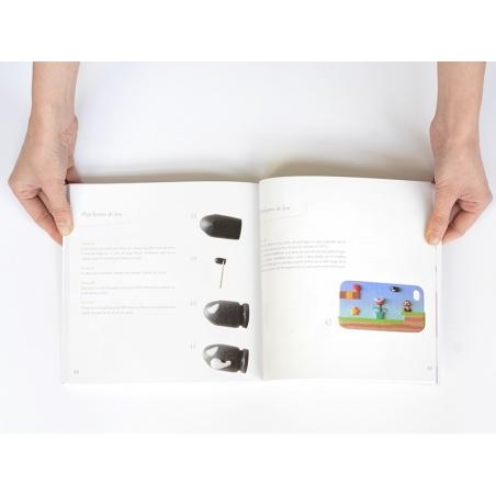 """French book """" Je fabrique ma coque de portable en pâte polymère - Elodie Vanelle"""""""