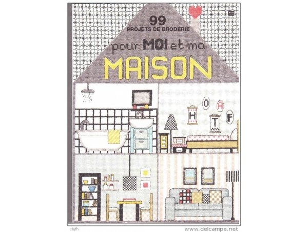 Livre 99 projets de broderie pour moi et ma maison la petite epicerie - Moi dans ma maison vide ...