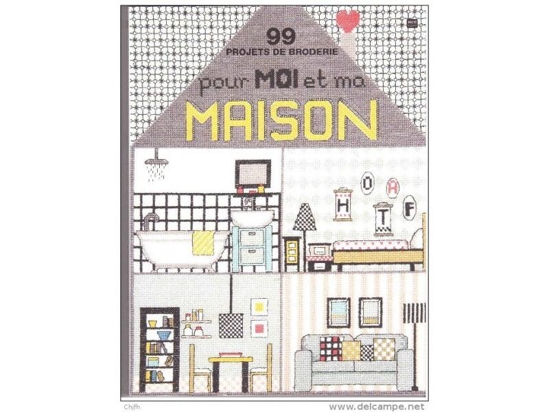 Livre 99 projets de broderie pour moi et ma maison Rico Design - 1
