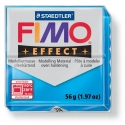 Pâte Fimo EFFECT Translucide Bleu 374
