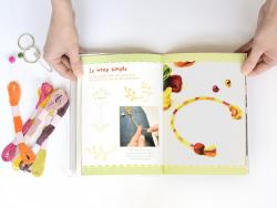 Livre Kit Ma pochette créative Bracelets Brésiliens - Sandra Lebrun