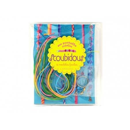 Livre Kit Ma pochette créative Scoubidous  Larousse - 1