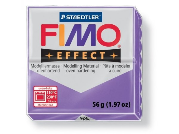 Fimo Effect - translucent colour purple no. 604
