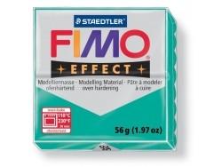 Pâte Fimo Effect Translucide Vert 504