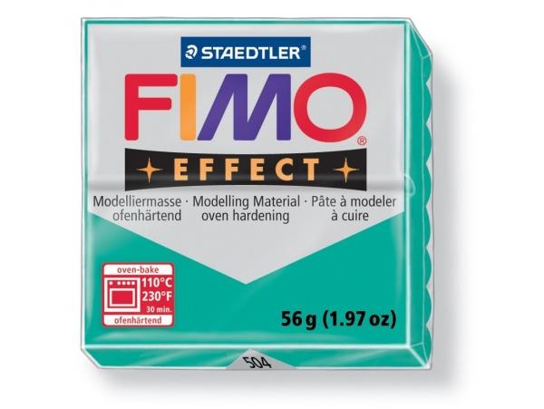 Fimo Effect - translucent colour green no. 504