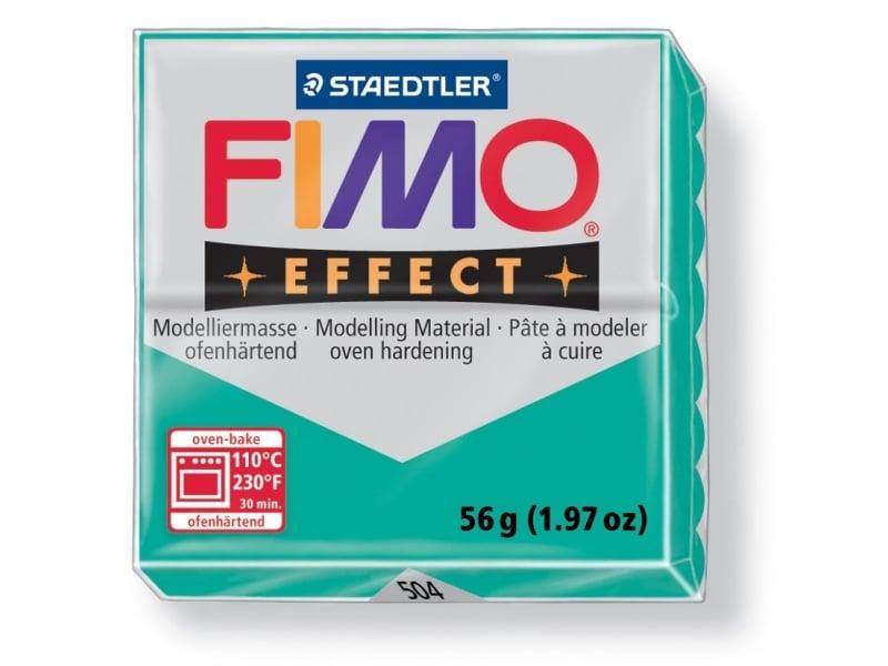 Acheter Pâte Fimo EFFECT Translucide Vert 504 - 1,99€ en ligne sur La Petite Epicerie - Loisirs créatifs