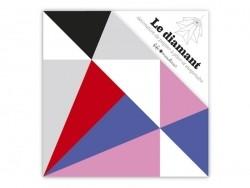 """""""Le Diamant"""" - """"Rose"""" von Fifi Mandirac"""
