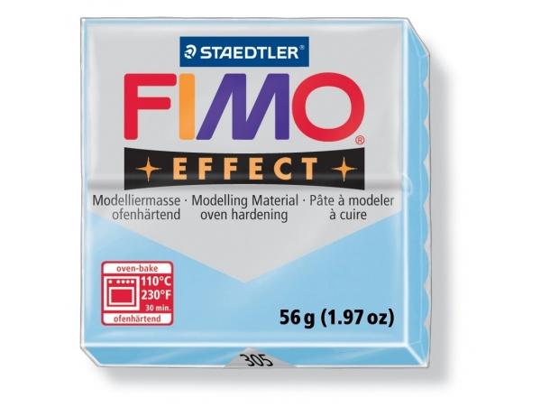 Pâte Fimo EFFECT Pastel Bleu 305