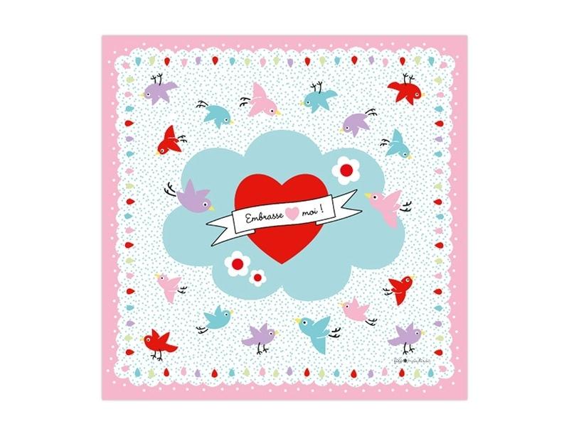 Pink bandana by Fifi Mandirac