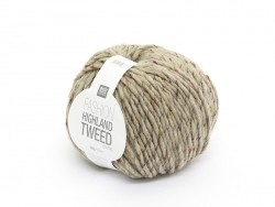 "Knitting wool - ""Highland Tweed"" - Beige"