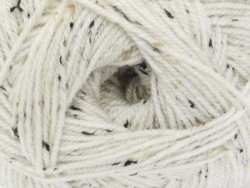 "Laine à tricoter ""Basic Super big Tweed"" - Naturel"