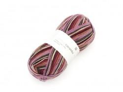"""Knitting wool - """"Superba 4 fils"""" - Red berries"""