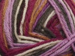 """Laine à tricoter """"Superba 4 fils"""" - Fruits rouges"""