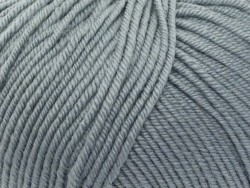 "Laine à tricoter ""Essentials merino"" - bleu grisé"