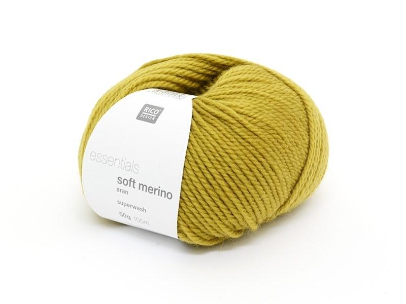"""Knitting wool - """"Essentials - Soft Merino"""" - saffron"""