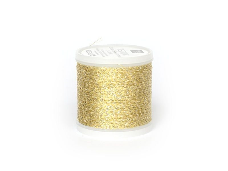 200 m bobbin embroidery thread - gold