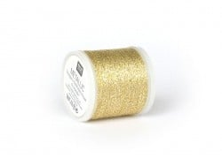 Rolle mit 200 m Stickgarn - Gold