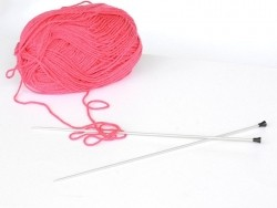 Aiguilles à tricoter en métal - 3,0 mm