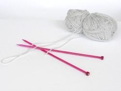 Aiguilles à tricoter - 6,5 mm