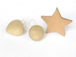 Boule à suspendre - papier mâché à customiser