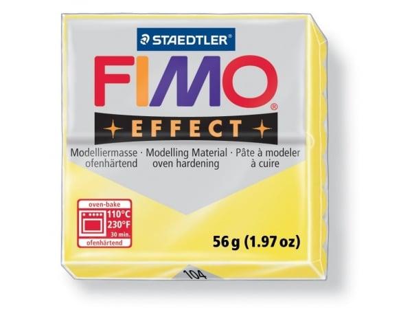 Fimo Effect - translucent colour yellow no. 104