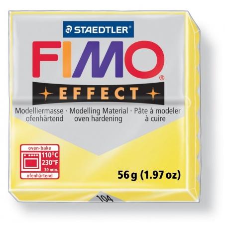 Acheter Pâte Fimo EFFECT Translucide Jaune 104 - 1,99€ en ligne sur La Petite Epicerie - Loisirs créatifs