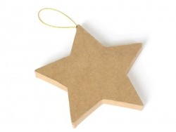 Acheter Etoile à suspendre - papier mâché à customiser - 2,69€ en ligne sur La Petite Epicerie - 100% Loisirs créatifs