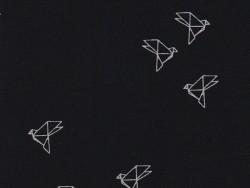"""Bye bye birdie"" fabric - origami bird"