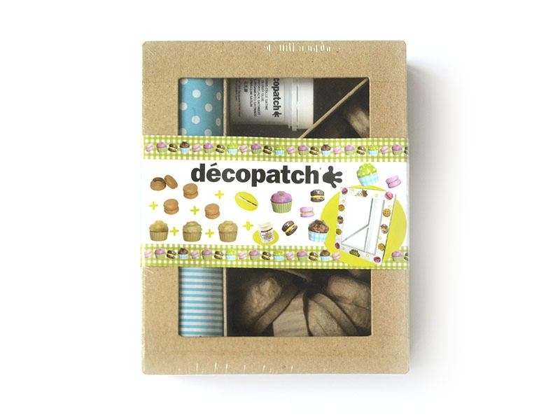 Kit macarons et cupcakes - en papier mâché à customiser