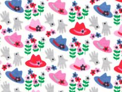 """""""Couvre-toi bien"""" fabric - Fifi Mandirac"""