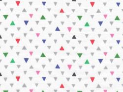Tissu cuicui triangles - Fifi Mandirac