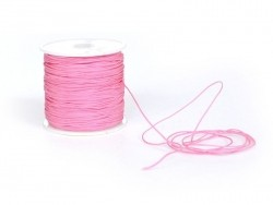 1 m de fil de jade / fil nylon tressé 1 mm - rose bubble gum
